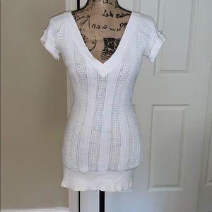 GUC Bebe short sleeve sweater/tunic. Size medium